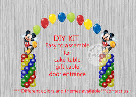 Mickey Mouse Table by Disney Mickey Mouse Birthday Balloons Mickey Mouse Cake Table