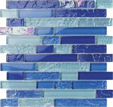 Sample Rustic Copper Linear Natural by Linear Glass And Stone Mosaic Tiles Mineral Tiles
