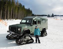 land rover defender 2017 6x6 land rover defender satbir snow tracks made by dajbych krkonoše