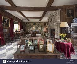 the great hall at baddesley clinton warwickshire baddesley