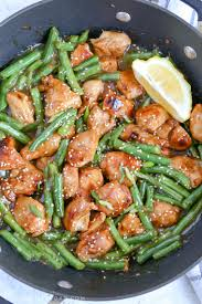 green bean recipes for thanksgiving honey lemon chicken and green beans a fresh and light meal