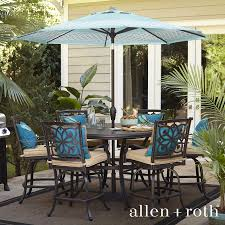 Allen Roth Patio Furniture Shop The Ebervale Patio Collection On Lowes Com