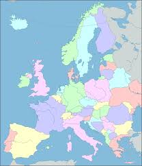 Rail Map Of Europe by Europe Map Interactive Map Of Europe Showing Countries Rivers
