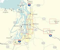 wsdot seattle traffic map wsdot puget sound area travel alerts