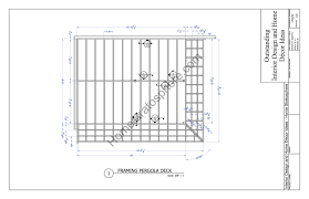 Pergola Free Plans by Free Deck Plan With Pergola Download Full Pdf Blueprint Home