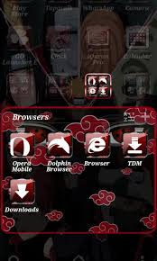 download theme line android apk akatsuki go launcher theme for android free download on mobomarket