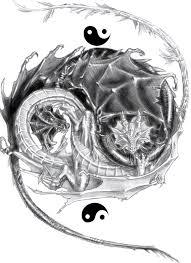 yin yang dragon tattoo awesome tiger and dragon yin yang tattoo