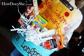 Teacher Gift Basket Christmas Gift Ideas For Teachers