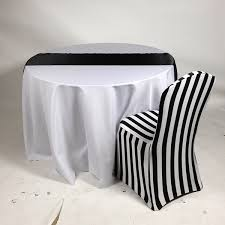 Black And White Chair Covers Linentablecloth New Products Poll