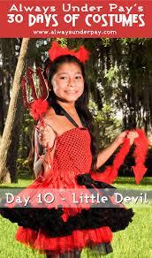 day 10 u2013 little devil diy halloween costume tutorial cheap easy