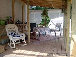 Mobile Home Curtains Mobile Home Porches Outdoor Curtains Front Porches And Porch