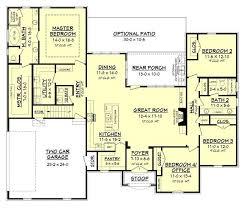 4 Bedroom Farmhouse Plans Download Ranch House Plans Farmhouse Adhome
