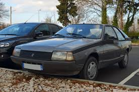 renault hatchback from the 1980s endangered species renault fuego ran when parked