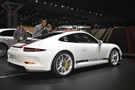 porsche r porsche 911 r and 718 boxster land in new york nyias the fast