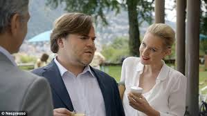 nespresso commercial female actress nicky whelan stars with george clooney and jack black in new