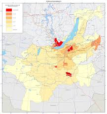 World Population Density Map 070 Population Density Map U2014 English