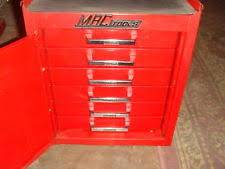 red garage u0026 shop tool chests with wheels ebay