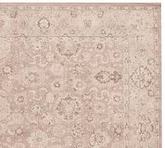 floral rugs pottery barn