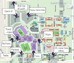 tcu parking map tcu parking lot map the skiffler the way a search for th flickr