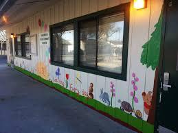 school murals bay area bay area muralist flo de bretagne luther burbank preschool schools murals