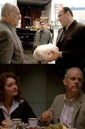 classic turkey day tv the sopranos tony