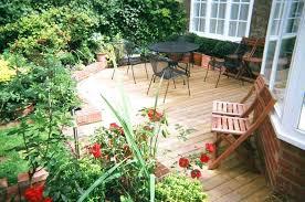 deck and garden design rooftop garden design ideas with wooden