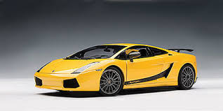 lamborghini gallardo superleggera yellow autoart lamborghini gallardo superleggera giallo midas metallic