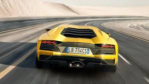 Yellow Lamborghini Aventador - the new lamborghini aventador s packs more power and performance