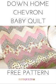 home patterns down home chevron baby quilt free baby quilt patterns baby
