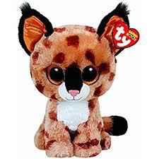 amazon ty beanie boo plush buckwheat lynx 15cm toys