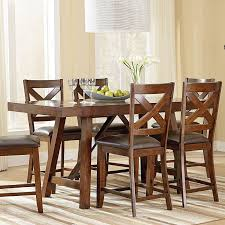 Counter Height Dining Room Furniture by Omaha Counter Height Dining Set W Bench Brown Casual Dining