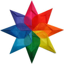 easy to make christmas decorations window star step 9 origami
