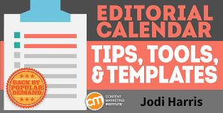 Editorial Calendar Template Excel Editorial Calendar Tips Tools And Templates