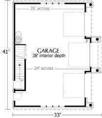 Craftsman Garage With Apartment Plan Hipped Roof Three Car Garage Plan 1040 1 By Behm Design Garage