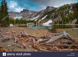 Great Basin National Park Map Stella Lake Small Alpine Lake On Wheeler Peak Great Basin National