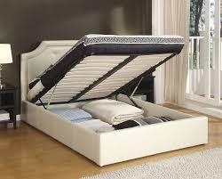new queen storage bed frame modern twin design 10 stunning under