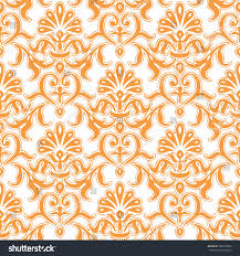 italian ornament inspired pattern seamless background stock vector