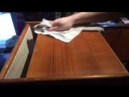 How To Remove Stains From Wood Table How To Remove Stains And Water Marks From Teak Furniture Youtube