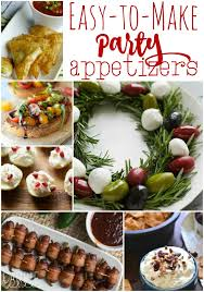 14 easy party appetizers carrie elle