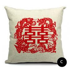 wedding pillows wedding pillow style beijing opera