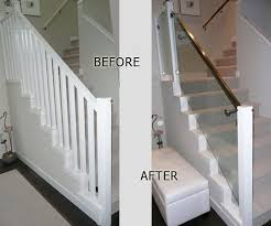 Indoor Banisters Indoor Railings Interior Glass Railing Projects In Vancouver