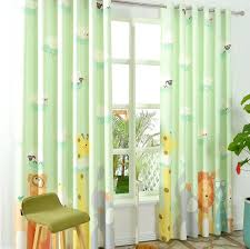 Kid Blackout Curtains Light Green Curtains Interior Design