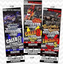 monster truck show ticket prices 55 best monster jam invitation and birthday party ideas images on