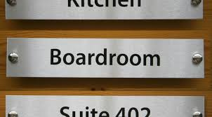 signs custom glass desk name plates amazing office door name