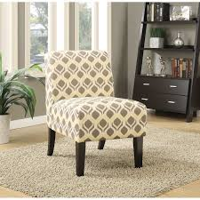 Patterned Armchair Amazoncom Home Bessia Modern Patterned Accent Chair Grey And