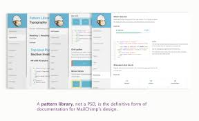 pattern library mailchimp improving the web design process