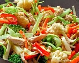 cuisine au wok recettes recette de wok de poulet aux légumes