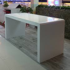 White Acrylic Desk by White Solid Surface Acrylic Bar Table Buy Bar Table Acrylic Bar