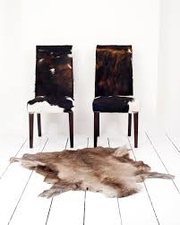 dining rooms mesmerizing faux cowhide dining chairs art deco