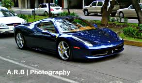 Ferrari California Dark Blue - car picker blue ferrari 458 spider